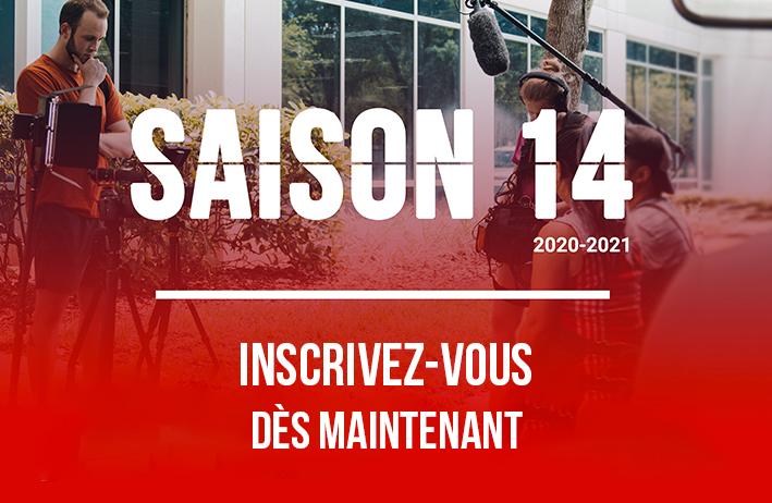 Inscrivez-vous à la saison 14 du concours JE FILME LE MÉTIER QUI ME PLAÎT