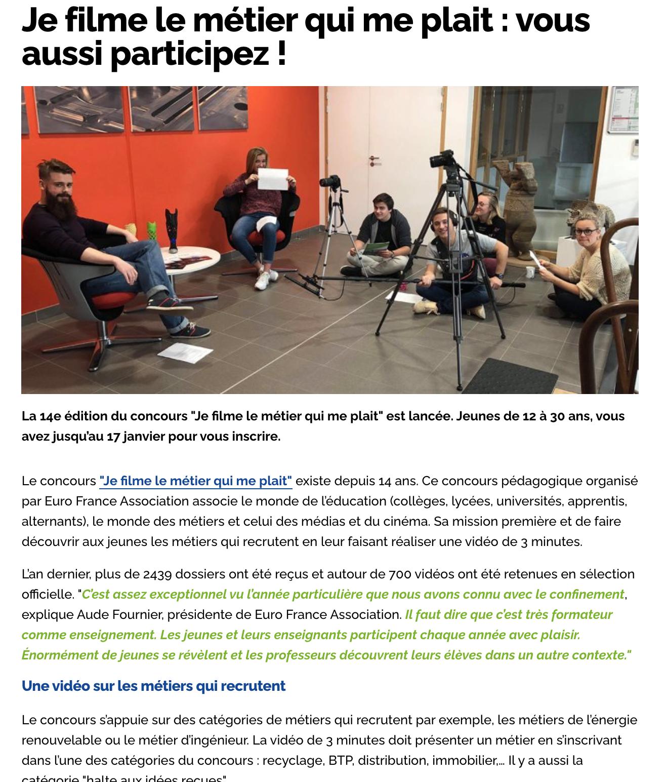 Région Hauts-de-France - 11/12/2020