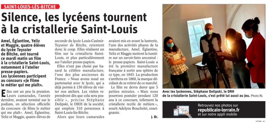 Le Républicain Lorrain - 15/04/2021