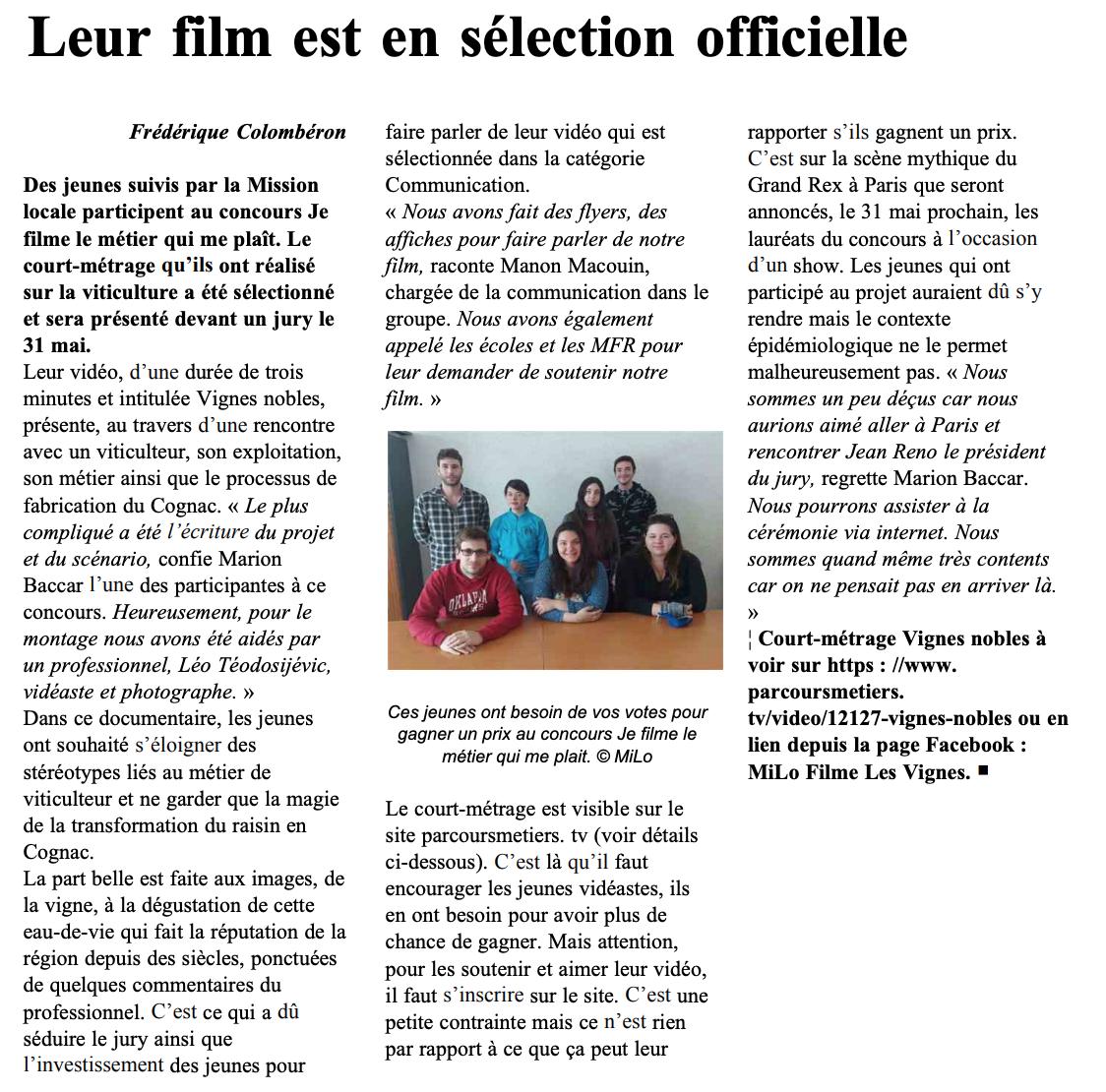 L'Angérien Libre - 06/05/2021