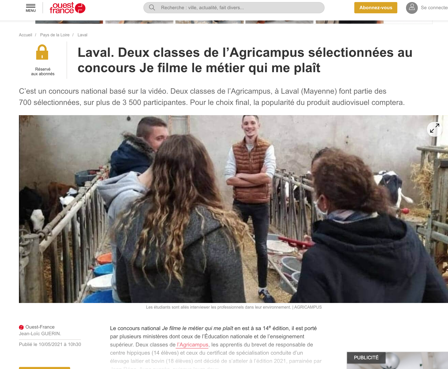 Ouest-France - 10/05/2021