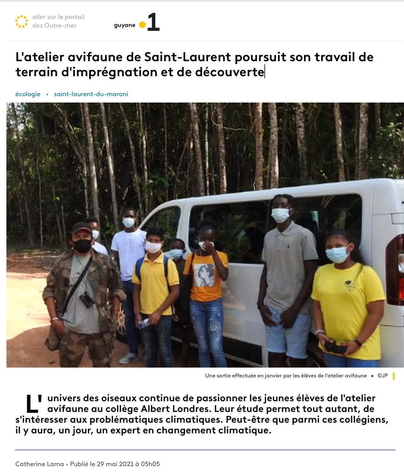 France Info - 29/05/2021