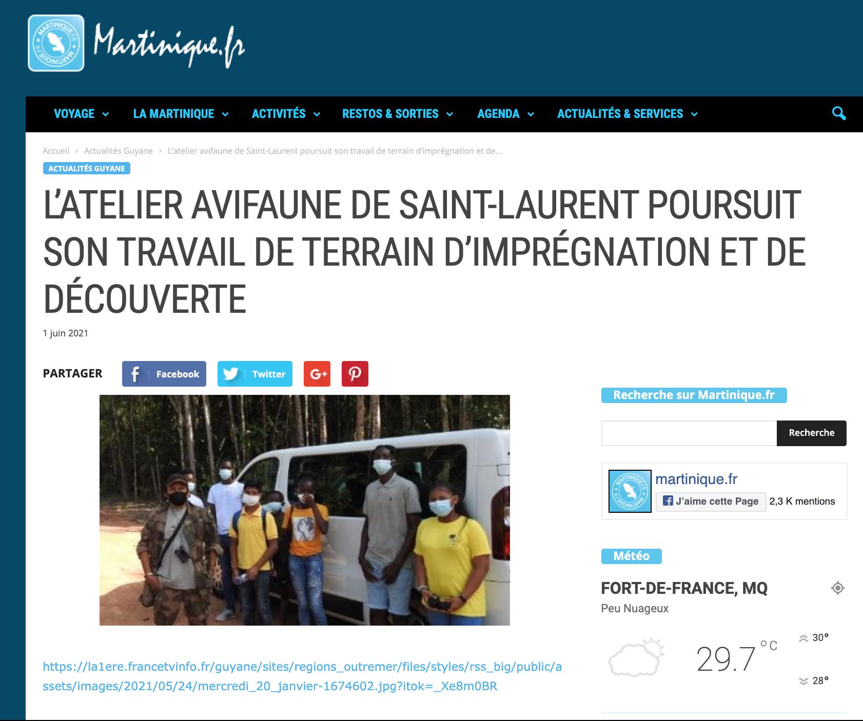 Martinique.fr - 01/06/2021