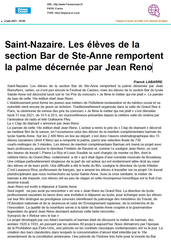 Presse Océan - 02/06/2021