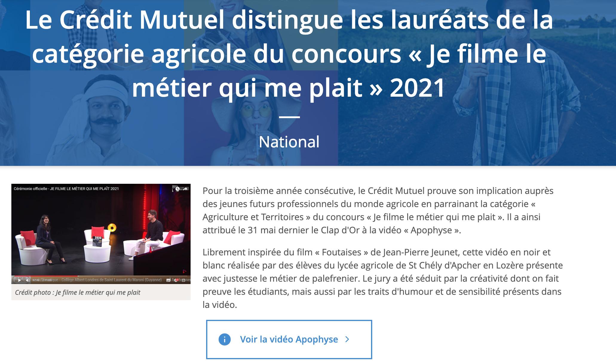 Crédit Mutuel - 04/06/2021