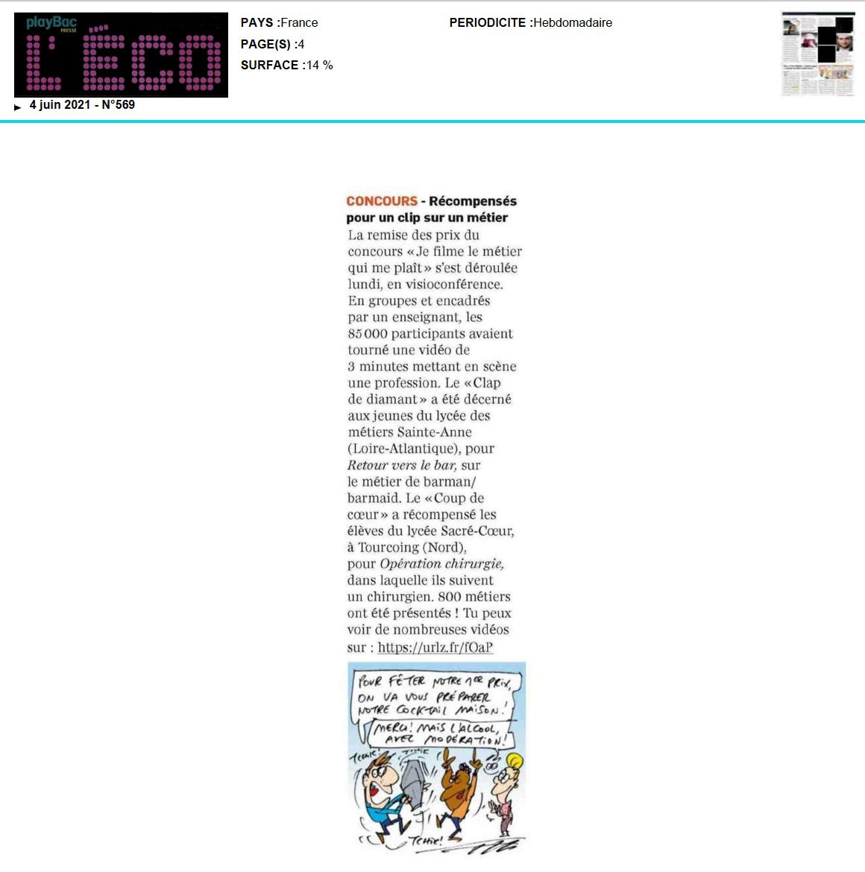 L'Eco - 04/06/2021