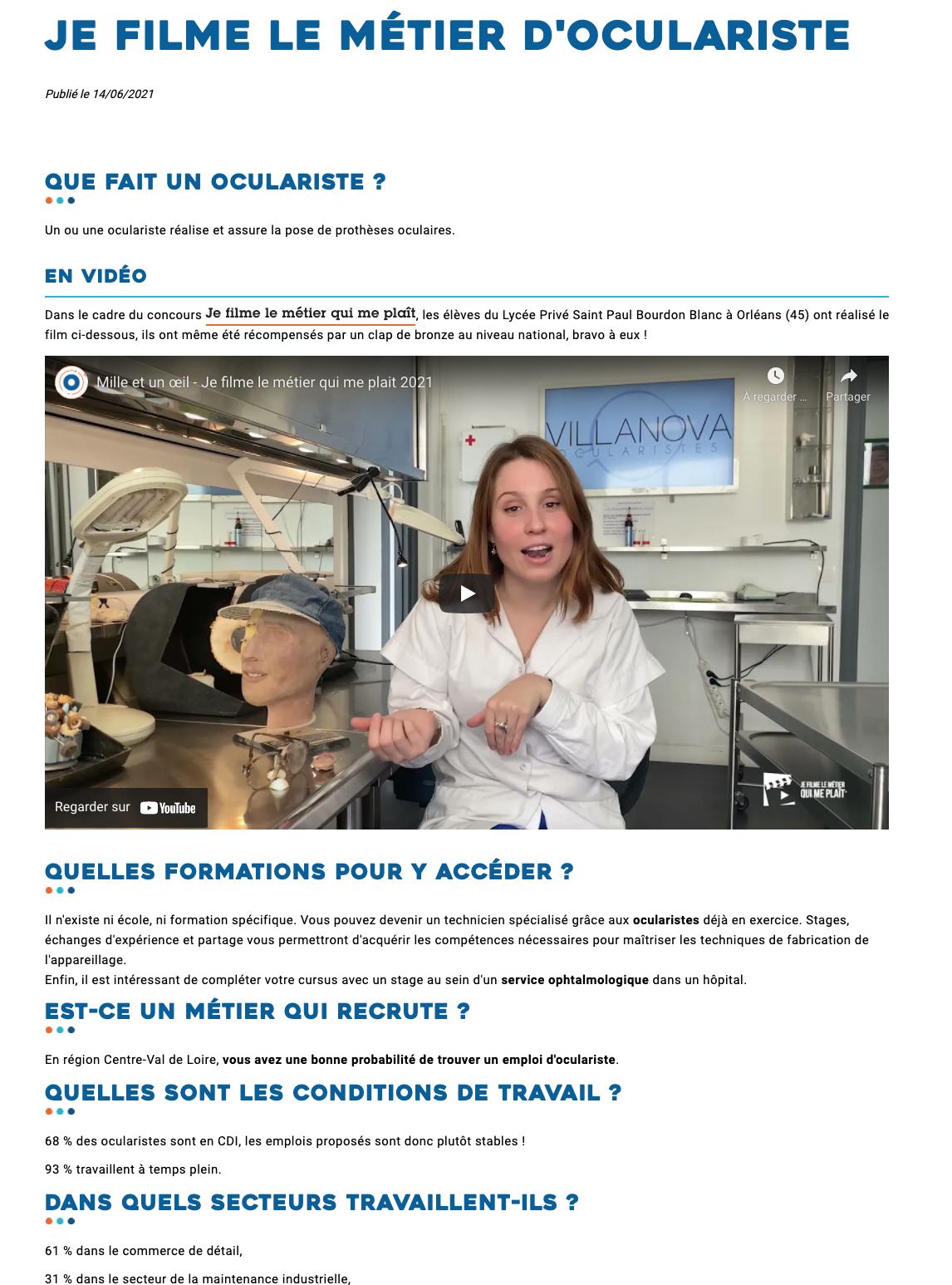 Orientation Centre-Val de Loire - 14/06/2021
