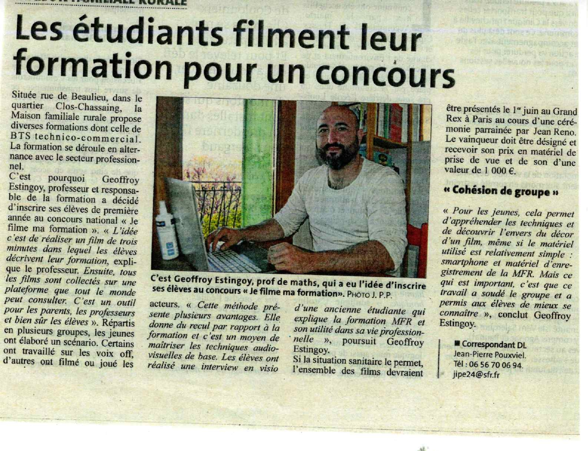 Dordogne Libre - 01/04/2021