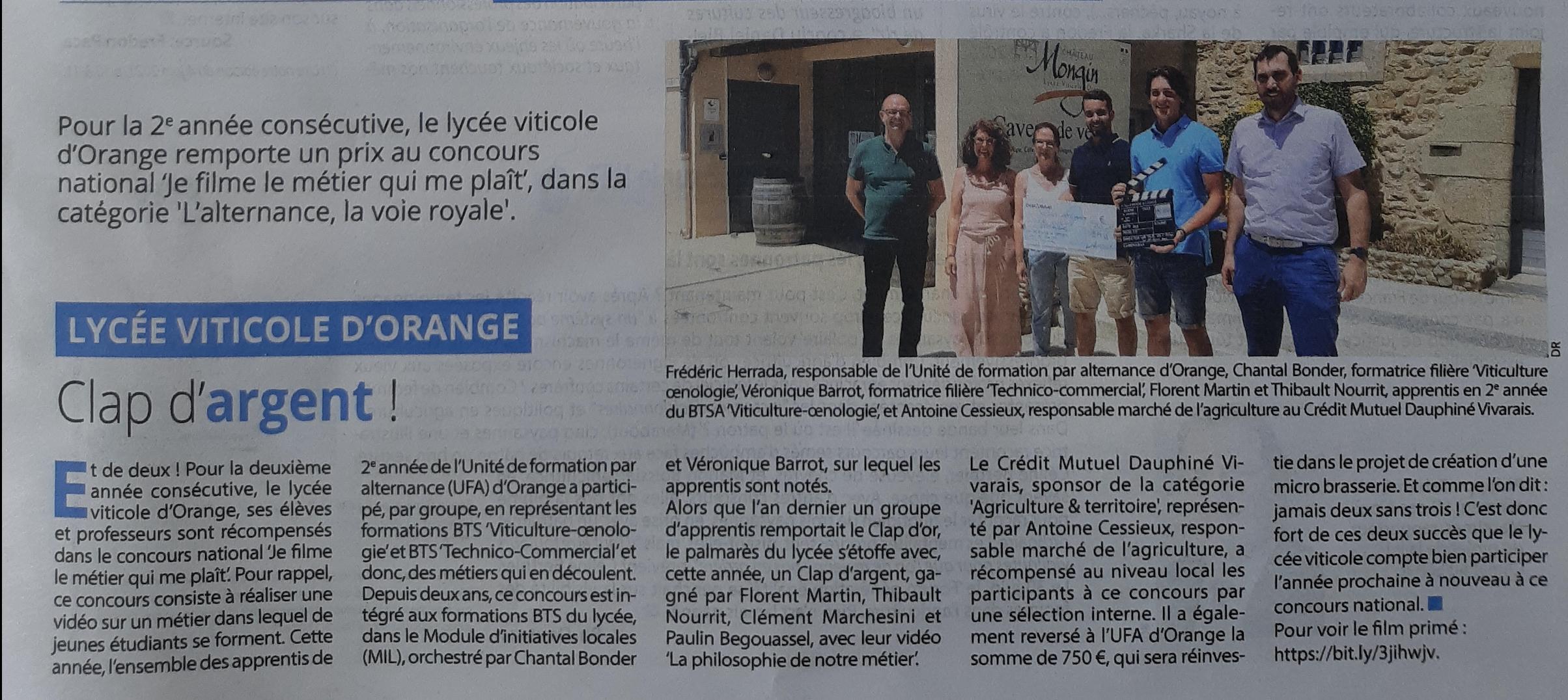 Vaucluse Agricole - 02/07/2021